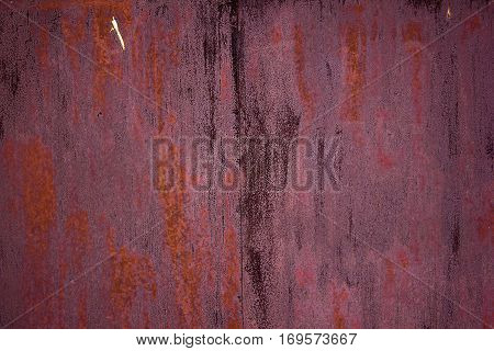 Close up abstract rusty metal surface background.