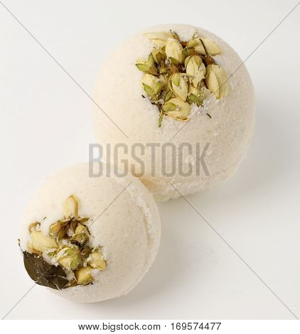 Salt bath bombs, essential oils, aromatherapy, spa