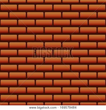 vector seamless brick wall texture, brickwall pattern. EPS
