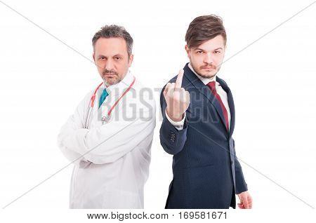 Arrogant Businessman Insulting You