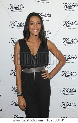 LOS ANGELES - SEP 22:  Annie Ilonzeh at the Kiehl's LifeRide for Ovarian Cancer Research at Kiehl's Store  on September 22, 2016 in Santa Monica, CA