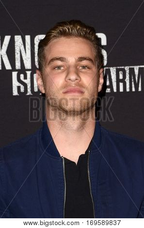 LOS ANGELES - SEP 30:  Cameron Fuller at the 2016 Knott's Scary Farm at Knott's Berry Farm on September 30, 2016 in Buena Park, CA