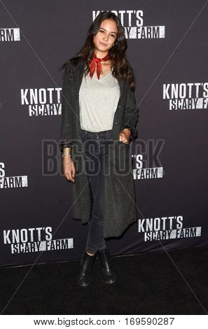 LOS ANGELES - SEP 30:  Courtney Eaton at the 2016 Knott's Scary Farm at Knott's Berry Farm on September 30, 2016 in Buena Park, CA