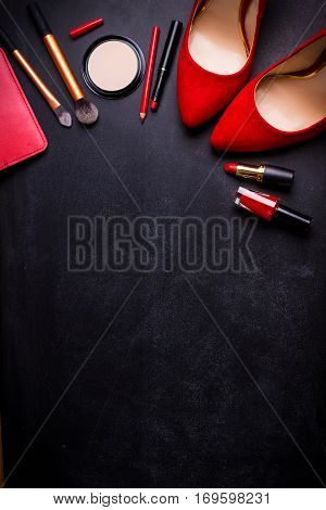 Cosmetic Black Background
