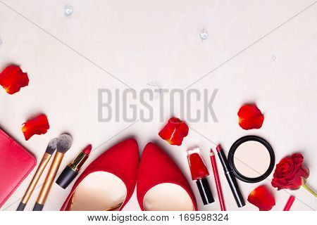 Cosmetic White Background