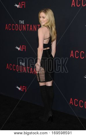 LOS ANGELES - OCT 10:  Greer Grammer at the
