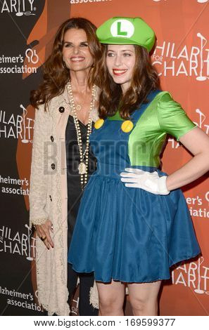 LOS ANGELES - OCT 15:  Maria Shriver, Lauren Miller at the 5th Annual Hilarity for Charity Variety Show: Seth Rogen's Halloween at Hollywood Palladium, on October 15, 2016 in Los Angeles, CA