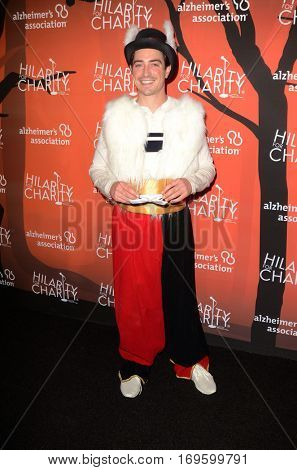 LOS ANGELES - OCT 15:  Ben Feldman at the 5th Annual Hilarity for Charity Variety Show: Seth Rogen's Halloween at Hollywood Palladium, on October 15, 2016 in Los Angeles, CA