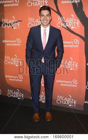 LOS ANGELES - OCT 15:  Michael Galante at the 5th Annual Hilarity for Charity Variety Show: Seth Rogen's Halloween at Hollywood Palladium, on October 15, 2016 in Los Angeles, CA