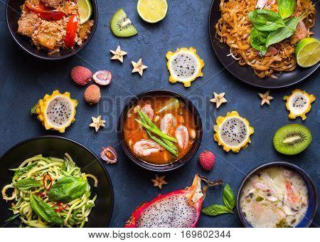 Thai Food Dishes