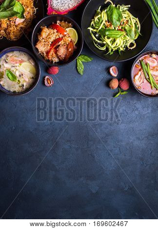 Thai Food Background