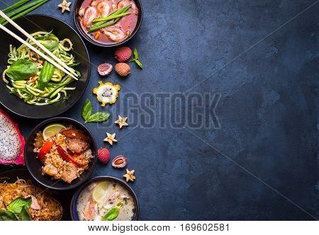 Thai Food Background