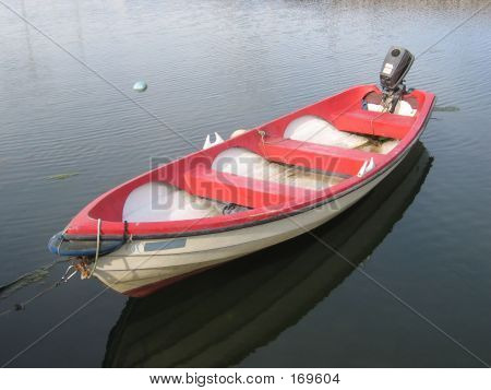 A Rowboat With A Motor