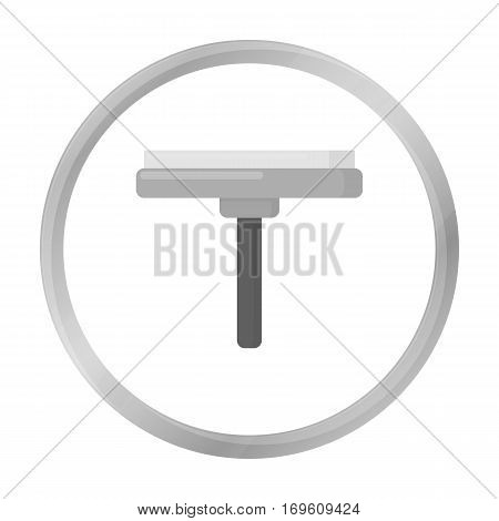 Squeegee monochrome icon. Illustration for web and mobile.