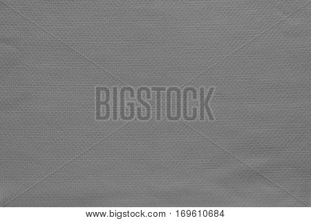 texture and background of fabric or cotton material of gray color