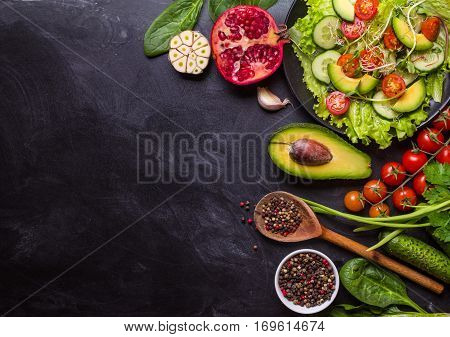 Ingredients For Making Salad