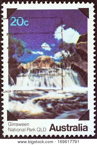 AUSTRALIA - CIRCA 1979: A stamp printed in Australia from the