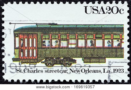 USA - CIRCA 1983: A stamp printed in USA from the