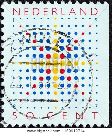 NETHERLANDS - CIRCA 1987: A stamp printed in the Netherlands from the