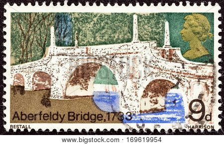 UNITED KINGDOM - CIRCA 1968: A stamp printed in United Kingdom from the