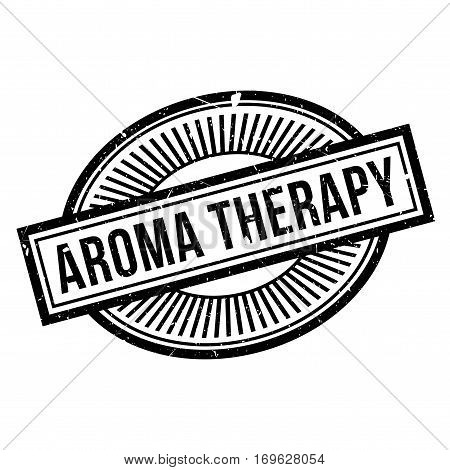 Aroma Therapy rubber stamp. Grunge design with dust scratches. Effects can be easily removed for a clean, crisp look. Color is easily changed.