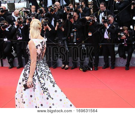 Hofit Golan attends the 'Money Monster' Premiere during the 69th annual Cannes Film Festival on May 12, 2016 in Cannes, France.