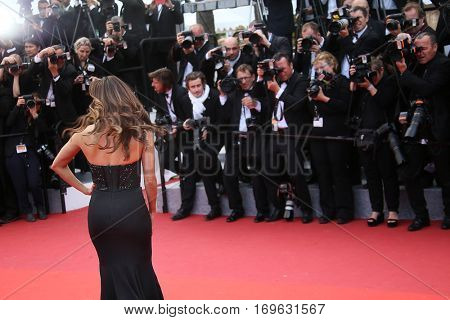 Eva Longoria attends the 'Money Monster' Premiere during the 69th annual Cannes Film Festival on May 12, 2016 in Cannes, France.