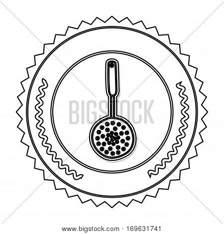Kitchen cooking utensil icon vector illustration graphic design