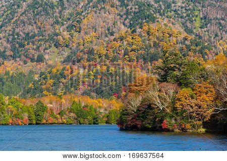 Yuno lake in Nikko