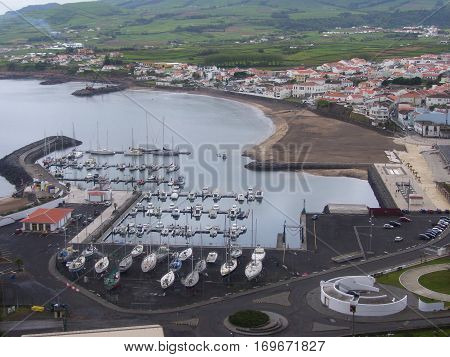 Landscapes of the Terceira Island. Azores, Portugal