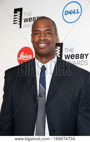 NEW YORK-MAY 19: Former NBA player Jason Collins attends the 18th Annual Webby Awards at Cipriani Wall Street on May 19, 2014 in New York City.