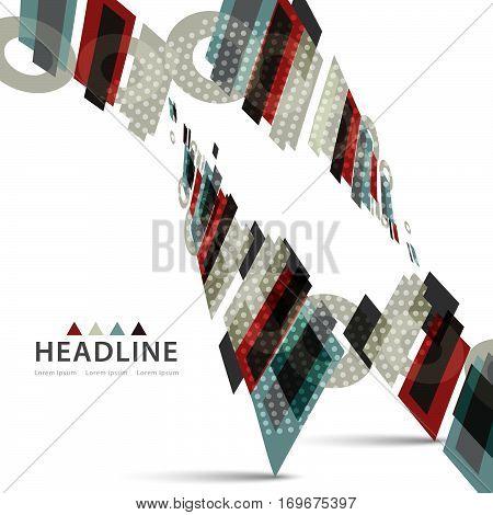 Brochure Header Layout