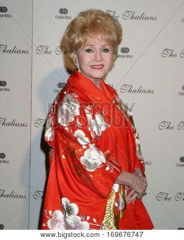 LOS ANGELES -NOV 7:  Debbie Reynolds arrives at the Thalians Ball  at the Century Plaza Hotel on November 7, 2004 in Century City, CA