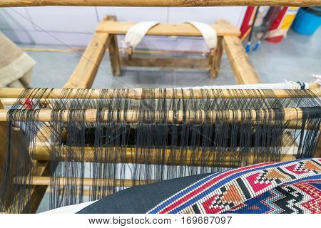 Ancient weaving cloth in china