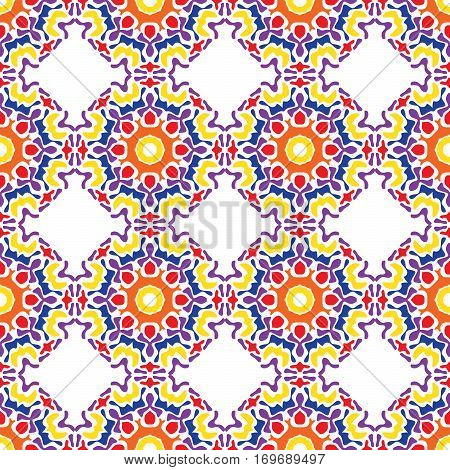 Abstract Seamless Pattern Of Bright Spots.