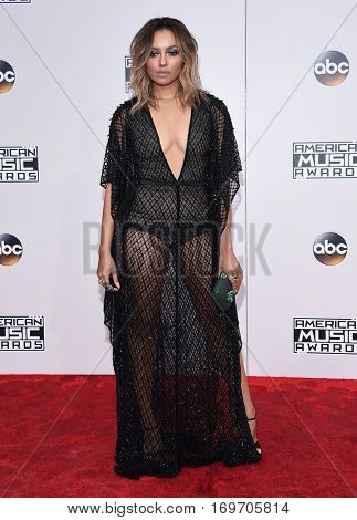 LOS ANGELES - NOV 20:  Kat Graham arrives to the American Music Awards 2016 on November 20, 2016 in Hollywood, CA