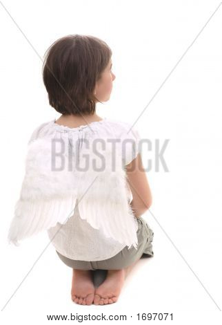 Casual Angel Praying