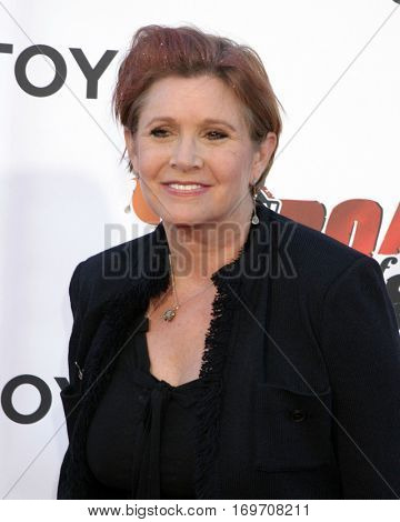 LOS ANGELES - AUG 13::  Carrie Fisher at the