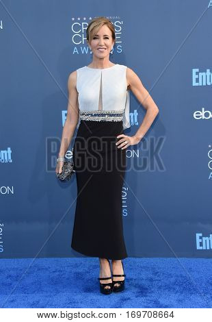 LOS ANGELES - DEC 11:  Felicity Huffman arrives to the Critics' Choice Awards 2016 on December 11, 2016 in Hollywood, CA