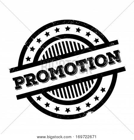 Promotion rubber stamp. Grunge design with dust scratches. Effects can be easily removed for a clean, crisp look. Color is easily changed.
