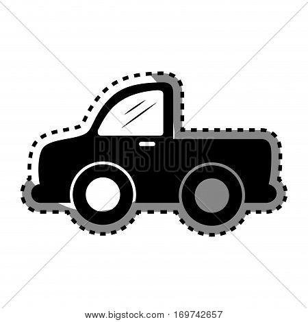 car waggon vehicle icon vector illustration design