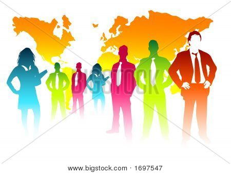 Colourful Business Concept