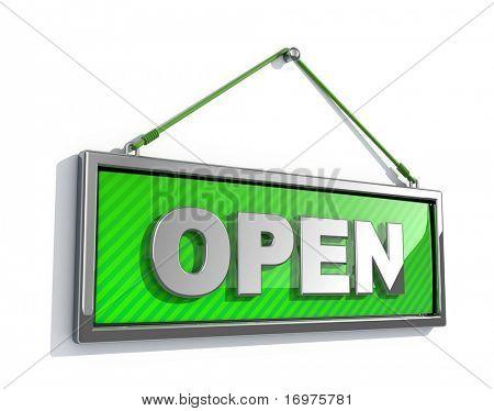 Sinal aberto