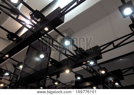 The Roof in the big shopping mall