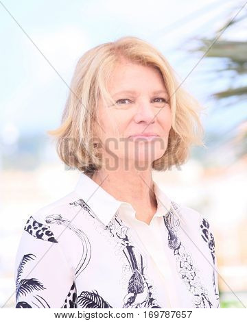 Nicole Garcia  attends the 'From The Land Of The Moon (Mal De Pierres)' photocall during the 69th annual Cannes Film Festival at the Palais des Festivals on May 15, 2016 in Cannes, France.