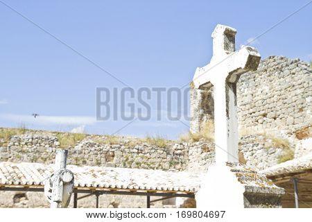 Eighteenth Century Cemetery, Brihuega, Spain