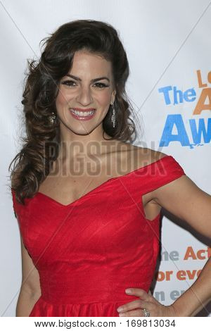 LOS ANGELES - DEC 6:  Renee Marino at the The Actors Fund's Looking Ahead Awards  at Taglyan Complex on December 6, 2016 in Los Angeles, CA