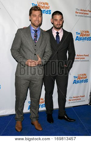 LOS ANGELES - DEC 6:  Lance Bass, Michael Turchin at the The Actors Fund's Looking Ahead Awards  at Taglyan Complex on December 6, 2016 in Los Angeles, CA