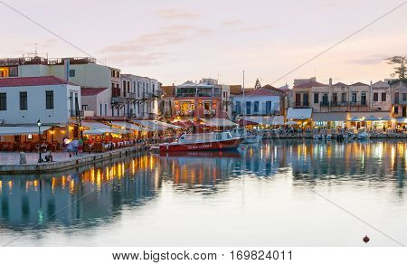 The Heart Of Rethymno