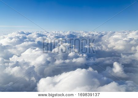 Beautiful Cloudscape Can Be Used As Background